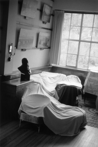 Atelier de Claude Monet, photo Bernard Plossu