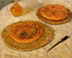 <em>Les Galettes</em>, Claude Monet, 1882, 65 x 81 cm, collection particulière - Analyse, description, explication.
