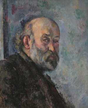 Autoportrait de Paul Cézanne vers 1895, Art Institute of Chicago