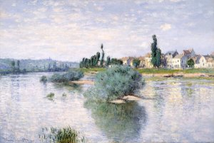 Lavacourt, Claude Monet, 1880, Dallas Museum of Arts, Texas
