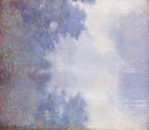 Matinée sur la Seine, Claude Monet, 1897<br />