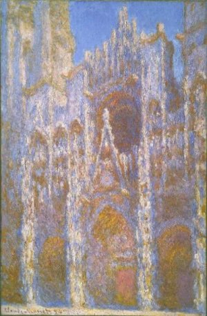 Cathédrale de Rouen, effet de soleil, Claude Monet, Museum of Fine Arts, Boston